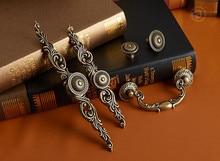 5 style Vintage Drawer Pulls Handle  Dresser Knob Rustic Kitchen Furniture Handles decorative Hardware
