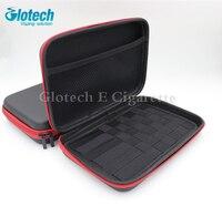 Glotech E papieros zipper case torba do Elektronicznych Papierosów box mod RDA RBA parownik cewki jig narzędzia case torba
