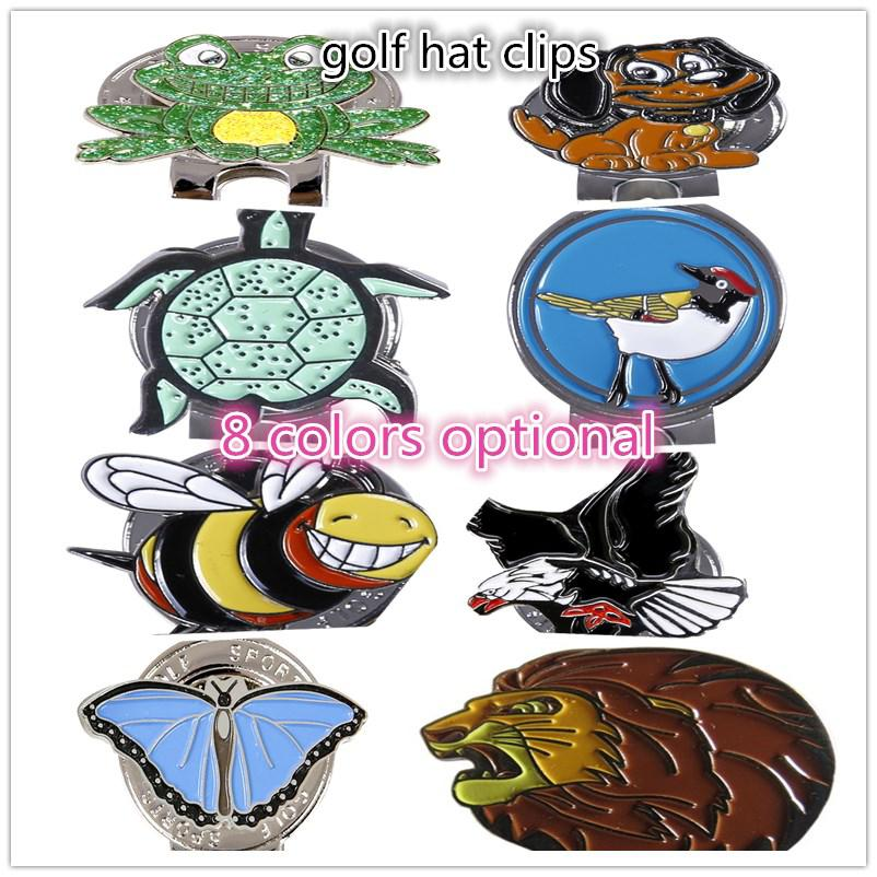 Golf Ball Clip Delicate Craft Markers Unique Animal Pattern Markings Golf Cap Clip