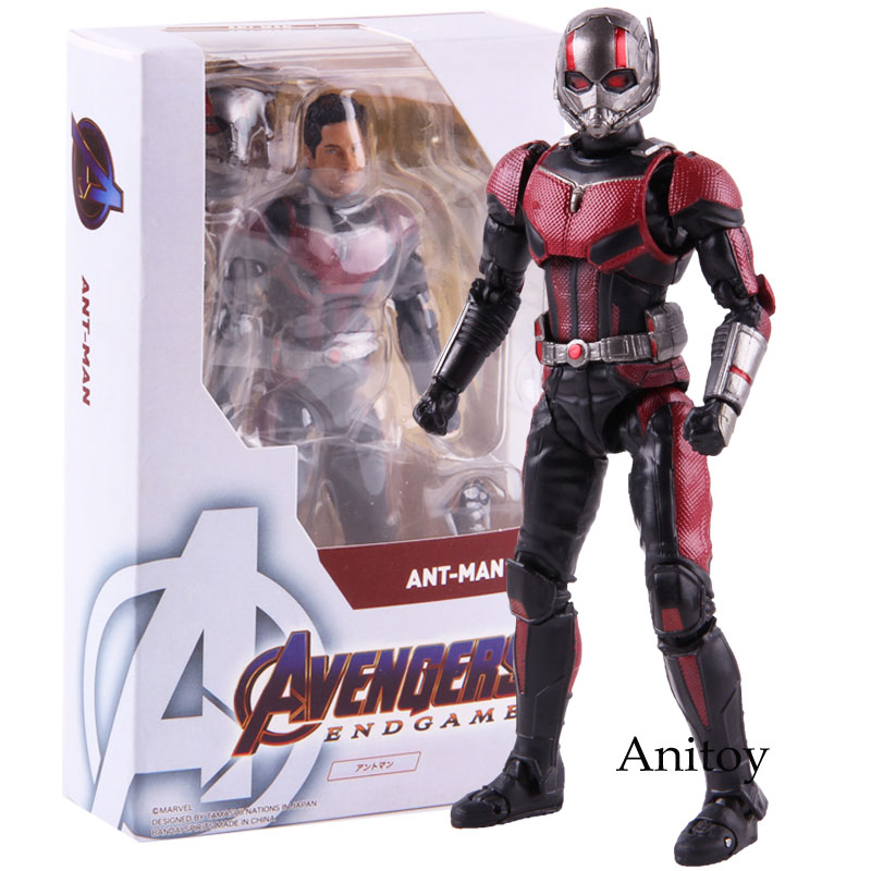 Super Heroes Marvel Avengers Endgame Ant-Man Antman Ant Man Action Figure PVC Collectible Model Toy