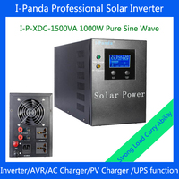 I P XDC 1500VA 1000w Solar Power Inverter Pv Controller DC24V Solar Energy Home System 1000W