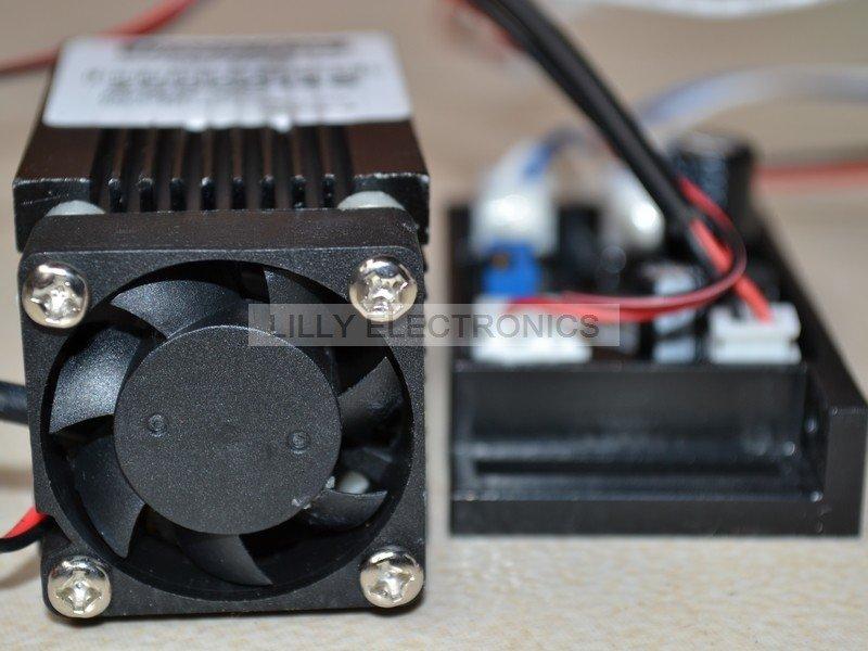 все цены на 445nm 450nm 400mW Blue Laser Dot Module 12V+ TTL+ Fan Cooling- Working Long time онлайн