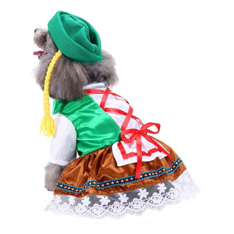 Halloween Pet Costume Puppy Cosplay Cloth Costume Funny Pet Clothes Christmas Uniform Hat Party Dog Fancy Dress Cosplay