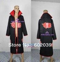 Naruto Akatsuki Itachi Uchiha cloak cosplay costume