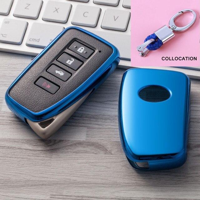 2019 nowy miękki TPU klucz pokrywy skrzynka dla Lexus NX GS RX IS ES GX LX RC 200 250 350 LS 450H 300H Car Styling klucz ochrony brelok