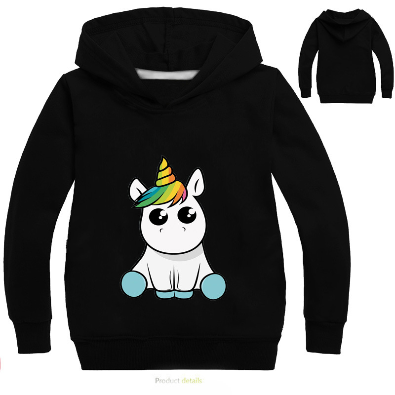 Children Boys Girls Cartoon unicorn Sport Hoodies T Shirt Outerwear Children Kids School Sweatershirt Outfits Clothing Top TeesChildren Boys Girls Cartoon unicorn Sport Hoodies T Shirt Outerwear Children Kids School Sweatershirt Outfits Clothing Top Tees