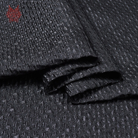 American Style 3D Geometric Embossed Jacquard Brocade Fabric For Spring Autumn Dress Coat Suits Jacquard Cloth