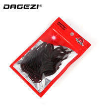 DAGEZI  Smell red worm lures 4cm soft bait carp soft fishing lure set artificial fishing tackle 38