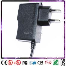Frete grátis ac dc adaptador de 17 v 400ma 0.4a 6.8 w adaptador DA UE de entrada para 100 240 v ac 5.5×2.1mm 0.9 m DC cabo de Alimentação do transformador
