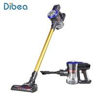 Dibea D18 легкий беспроводной придерживаться пылесос, 9000 pa Мощное всасывание Bagless Перезаряжаемые 2 в 1 ручной автомобилей вакуумные
