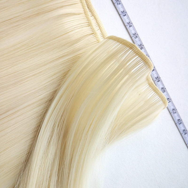 15cm*100cm And 25cm*100cm Long Straight High Temperature DIY Hair For Dolls Fiber BJD SD Wigs