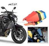 Motocycle Upper Headlight Top Cover Panel Fairing For Yamaha MT07 FZ07 2014 2015 2016 MT 07