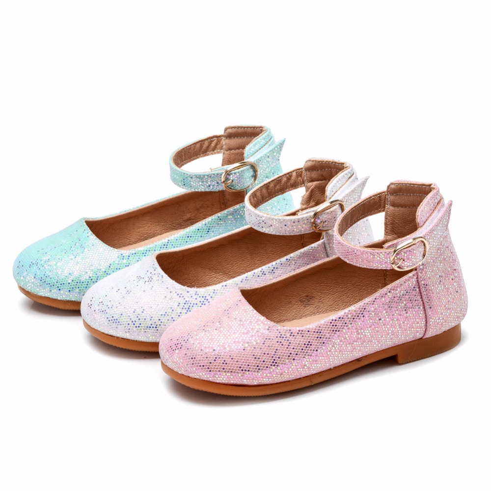MSMAX Girls Leather Shoes Children Mary Jane Princess Wedding Flats Kids  Shiny Dress Single Shoes-in Leather Shoes from Mother   Kids on  Aliexpress.com ... 86c890cb6885