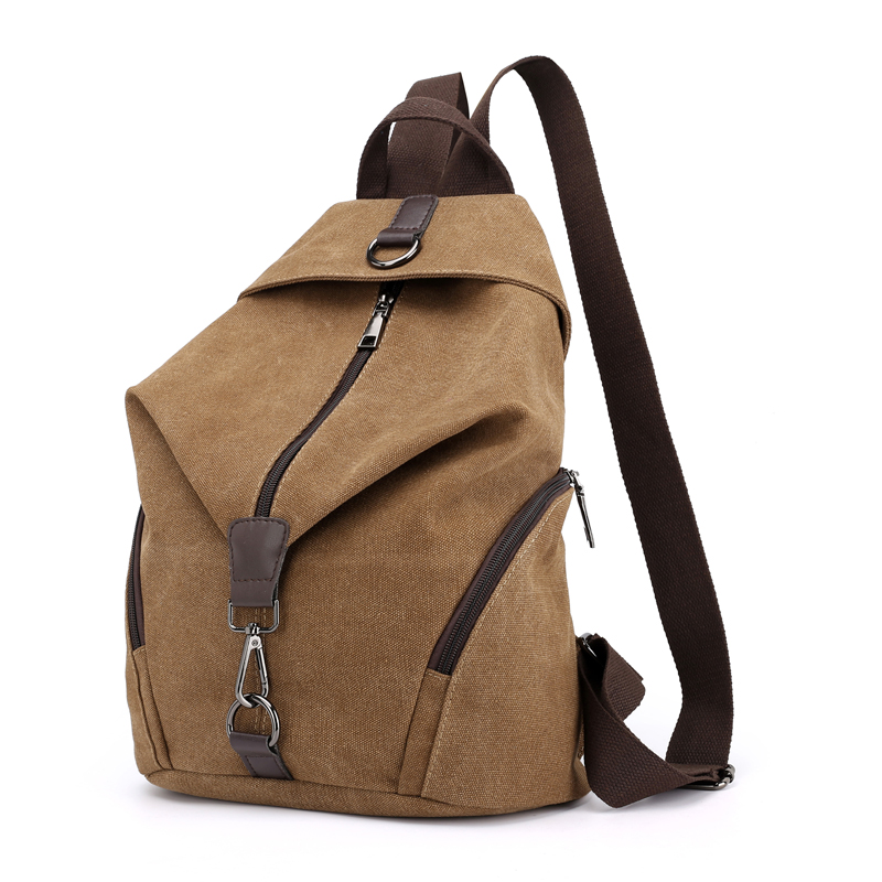 Travel Backpack Canvas Women Bag Casual Fashion High-Quality