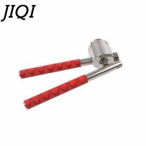 Image 3 - JIQI נירוסטה יד כף מלחץ בקבוקון אוטם 13mm 15mm 20mm בושם בקבוק איטום מכונה ידנית Capper להעיף את מכסת