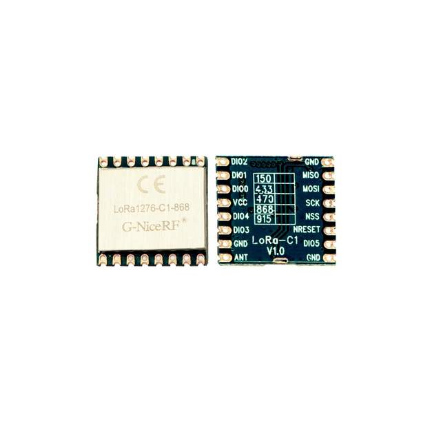 US $23 62 17% OFF|G NiceRF 4PCS CE Certification 868mhz LoRa1276 C1 SX1276  LoRa Module 20dBm 100mW 3 5KM small size-in Replacement Parts & Accessories