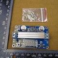 Mini LTC1871 100 W / 6A DC fonte de alimentação Step Up conversor DC DC 3.5 V - 30 V 6A 100 W conversores ajustáveis + LED vermelho voltímetro 30403