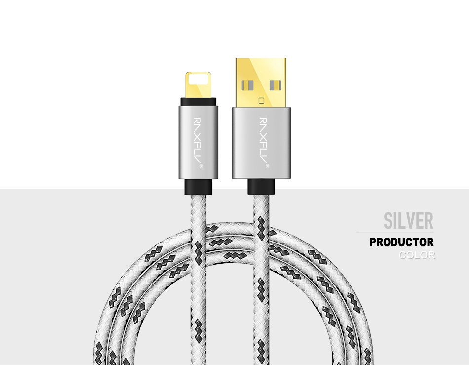 USB Cable For iPhone 7 6 6S Plus 5 5S SE Charger Cables 1M 2M Durable Nylon Accessories  (12)
