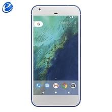 Разблокированный Google Pixel XL 5,5 ''дюйма 4 ядра с одной sim-картой 4 аппарат не привязан к оператору сотовой связи Android мобильного телефона 4 Гб Оперативная память 32 GB/128 GB Встроенная память смартфона