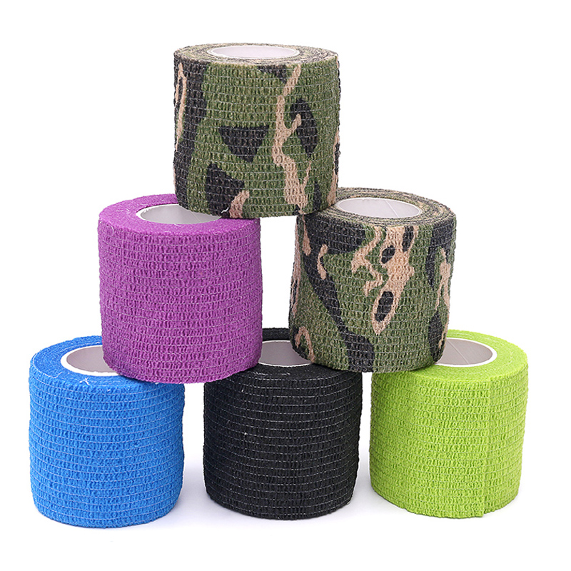 Beauty & Health Helpful 10 Rolls 5*450cm Disposable Self-adhesive Flex Elastic Bandage Tattoo Handle Grip Tube Wrap Elbow Stcik Medical Tape Accessories Highly Polished Tattoo & Body Art