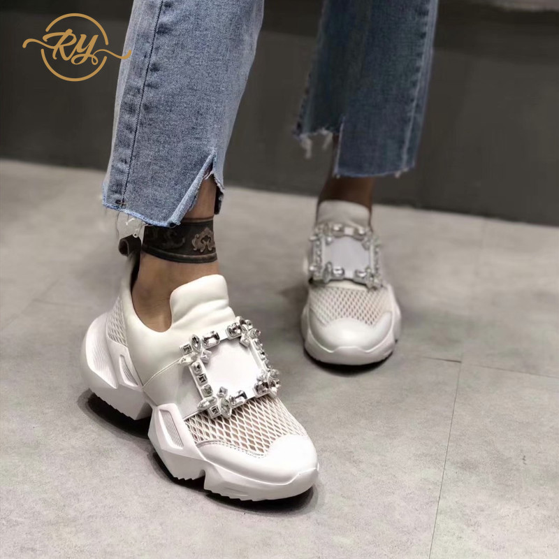 RY-RELAA womens shoes flat shoes designer shoes women luxury 2018 womens flats genuine leather shoes Luxury rhinestone shoesRY-RELAA womens shoes flat shoes designer shoes women luxury 2018 womens flats genuine leather shoes Luxury rhinestone shoes