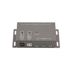 Image 5 - 2019 Infrarot fernbedienung Extender 6 Strahler 1 Empfänger Versteckte IR Repeater System Kit DC