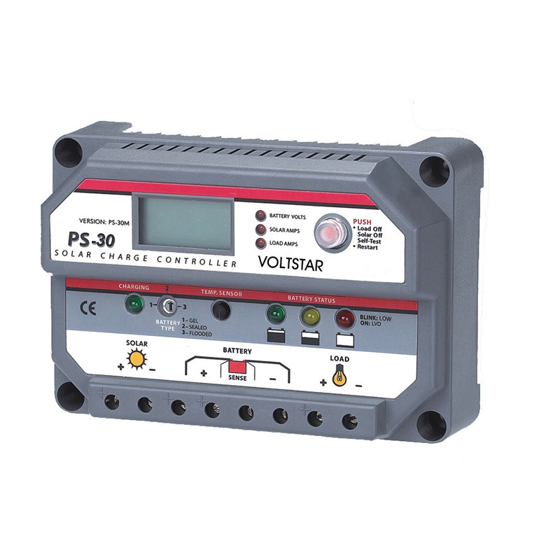 Solar Energy Controller PS30A 12v-48v Directly Full Protect Point Voltage Controller