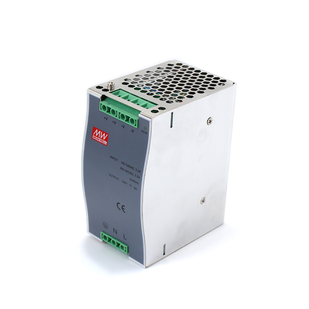 AC 110v/220v Transformer To DC 48v DR-120 Din Rail Power Supply 120W 48V 2.5A Switching Power Supply ac dc converter dr 240 din rail power supply 240w 48v 5a switching power supply ac 110v 220v transformer to dc 48v ac dc converter