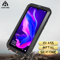 Love Mei Metal Case For Huawei P30 Pro Shockproof Phone Cover For Huawei P30 Lite Rugged Armor Anti Fall Case For Huawei P30 Pro