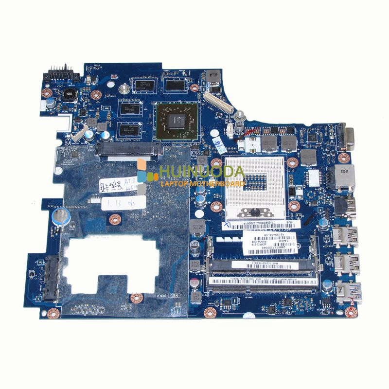 PIWG4 LA-6758P REV 1A For Lenovo ideapad G770 17'' Laptop motherboard HD3000 Radeon DDR3 Mainboard brand new ziwb2 ziwb3 ziwe1 la b092p rev 1 0 for lenovo b50 70 laptop motherboard mainboard