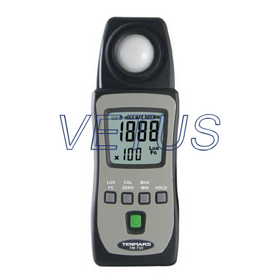 TM-720 TM720 LUX FC Lux meter light meter tester illuminometer mini digital lux meter light meter lux fc measure tester