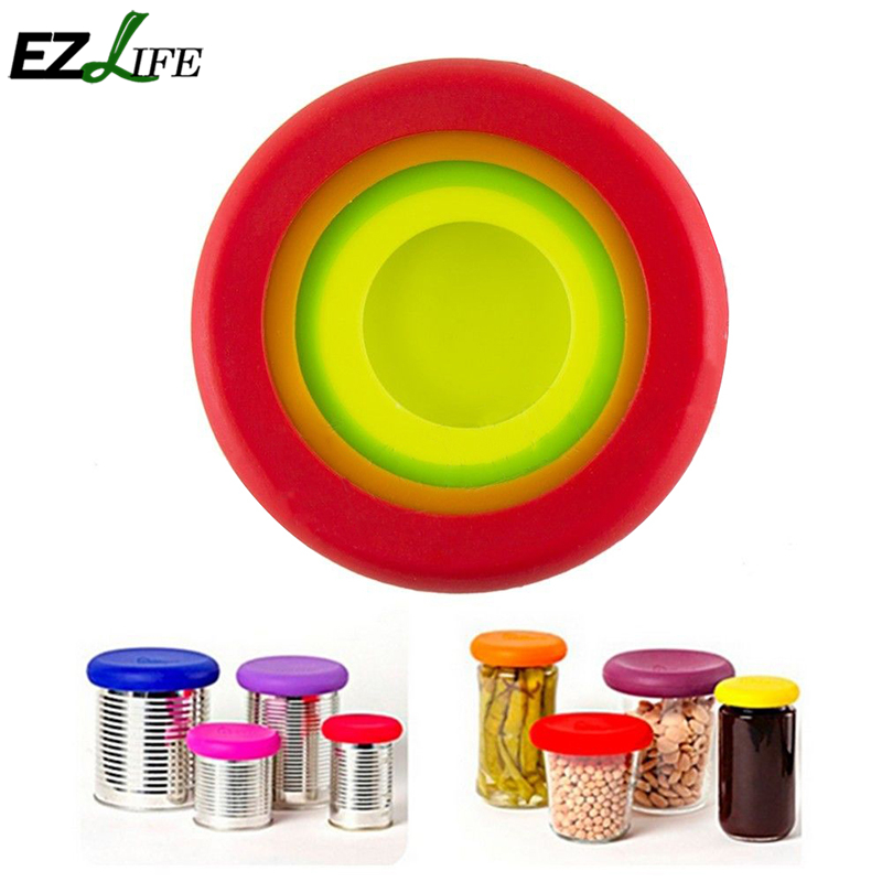 EZLIFE Color Al Azar 4 unids/set Vegetal Fruta Huggers Plástico Colorido Huggers