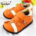 TipsieToes Marca Floral Niños Niños Zapatillas de Deporte Zapatos de Cuero Genuino de la Alta Calidad Para Las Niñas Nuevo 2016 Otoño Primavera 22413