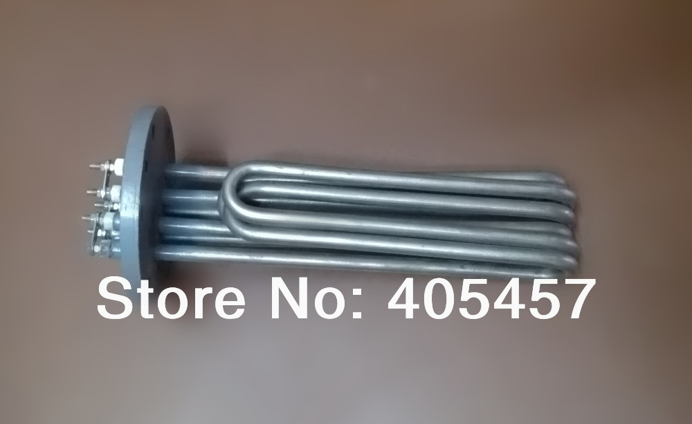 130mm iron head electric heat tube 12KW,380V boiler heating elements electric iron ladomir 64k