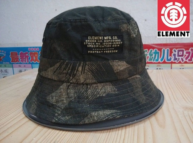 Skateboard element crowns bucket hat free shipping-in Bucket Hats ... 78c09f05c99