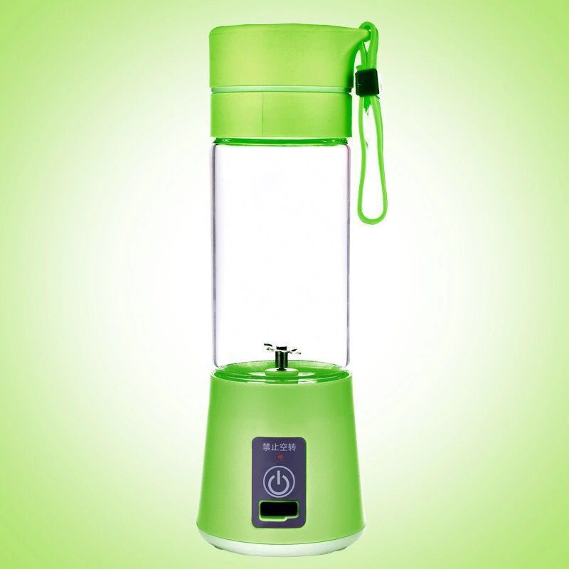 USB Electric Fruit Juicer Machine Mini Portable Rechargeable Smoothie Maker Blender Shake Take Juice Slow Juicer
