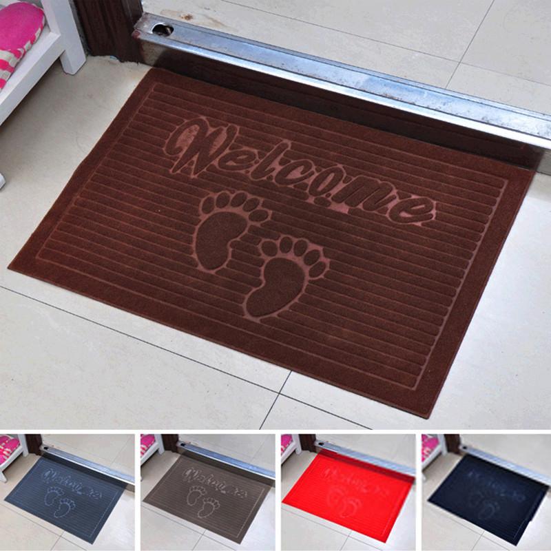 cm cm caf alfombras de bienvenida diseo pies rectngulo de tela de