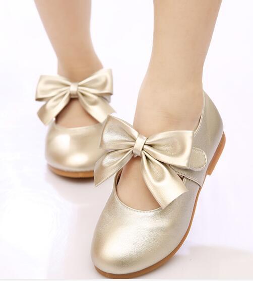 Printemps filles chaussures en cuir princesse appartements enfants chaussures filles baskets mignonnes pour les filles en bas âge formateurs 6079240 - 4