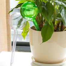 5pcs/lot Creative Automatic Plant Waterer Device Drip Irrigation Watering Device For Family Travelling Drip Fashion Flower Tools