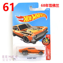 New Arrivals 2017 Hot Wheels NO.61 Noya Metal Diecast Cars Collection Kids Toys Vehicle For Children Juguetes collectib