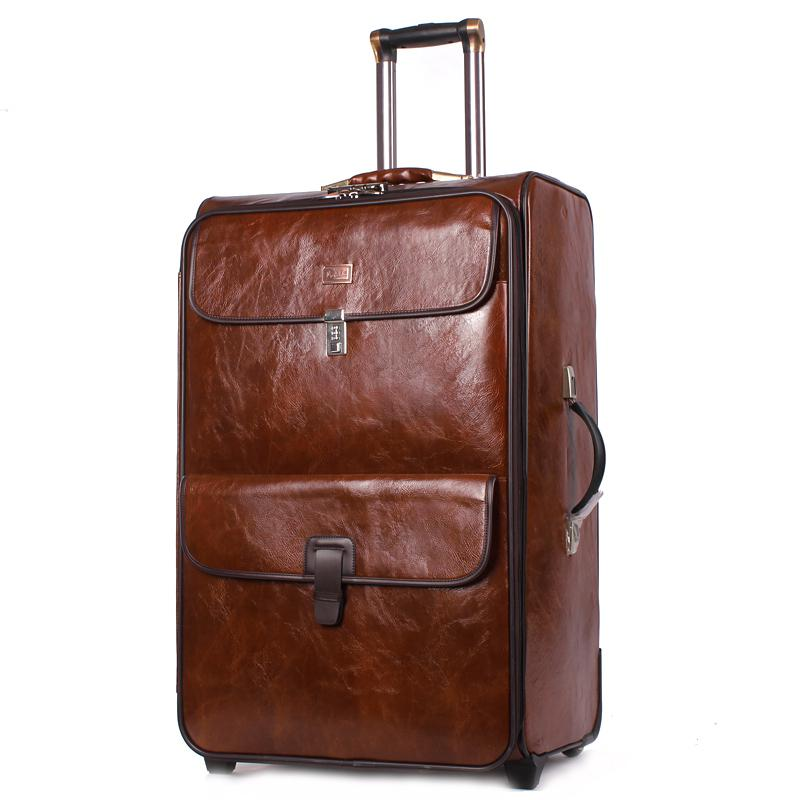 Popular Leather Suitcase for Men-Buy Cheap Leather Suitcase for ...