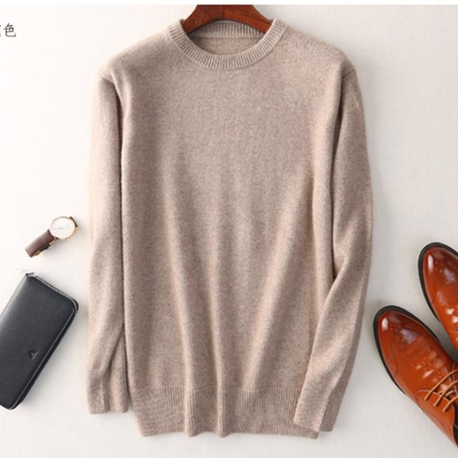 Closeout DealsCashmere cotton sweater men 2020 autumn winter jersey Jumper Robe hombre pull homme hiver pullover men o-neck Knitted sweaters