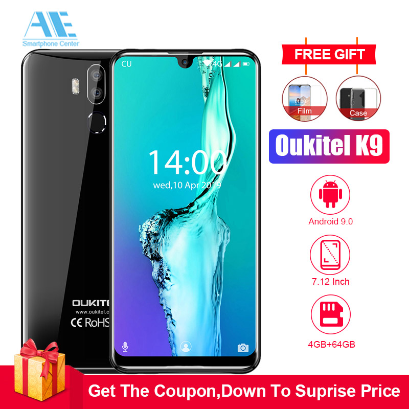 OUKITEL K9 Waterdrop 64GB GSM/WCDMA/LTE/CDMA Adaptive Fast Charge Face Recognition 16MP
