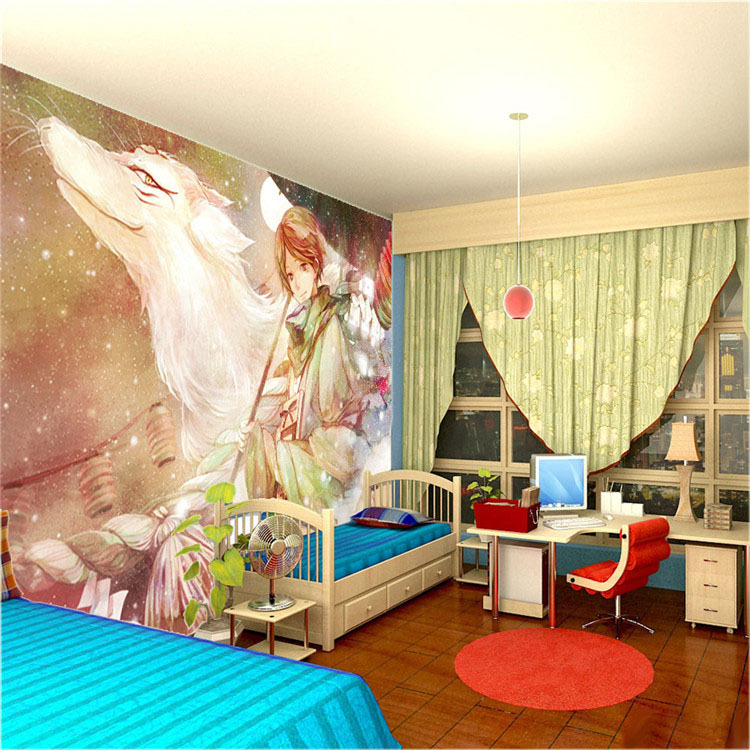 Merveilleux Custom Large Anime Photo Wallpaper Room Decor Natsumeu0027s Book Of Friends  Wall Mural Art Wall Painting Bedroom Background Wall In Wallpapers From  Home ...