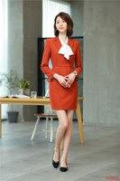 New 2019 Formal Elegant Women's Blazers Suits Skirt Set Women Skirt Suit Blazer and Jacket Sets Work Wear Ladies Business Office
