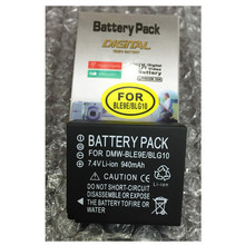 DMW-BLE9E lithium batteries pack DMW-BLG10E Digital camera battery BLE9E For Panasonic DMC-GF3 DMC-GF5 DMC-GF6 DMC-S6 DMC-GX7