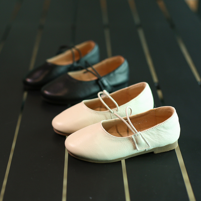 spring new leather shoes girls Korean version single shoe leisure Princess Shoe performance shoes wholesale a meal