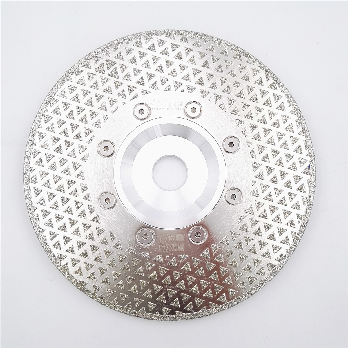 цена на DIATOOL 7/180mm electroplated diamond cutting and grinding discs for granite & marble with 22.23mm flange