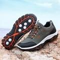 HUMTTO Мужская альпинистская обувь Нескользящая походная обувь для мужчин водонепроницаемые треккинговые кроссовки мужская обувь для рыбалк...