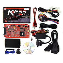 kess V5.017 V2.23 Kess V2 ECU Programming Chip Turning KTAG V7.020 RED/Green PCB car code reader no Tokens limited